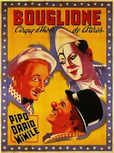 Pipo, Dario et Mimile au Cirque d'Hiver des frères Bouglione