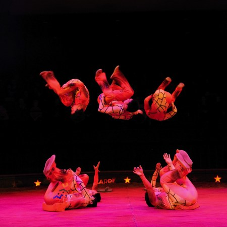 Troupe de Shandong - Icariens - photo François Dehurtevent
