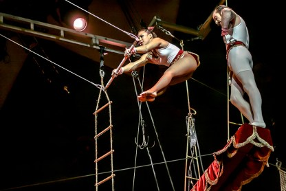 Flying Anton Von Ostendorf - Circus Dictionary
