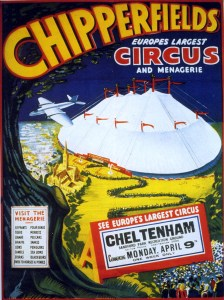Circus tent Chipperfields - Circus Dictionary
