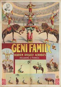 Icariens Geni family - Circus Dictionary
