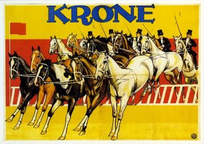 Chevaux au Cirque Krone - cheval au Cirque