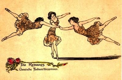 Dancing act ; les Romanos - Circus Dictionary