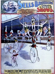 Penny-farthing : Stirk - Circus Dictionary