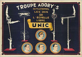 La troupe Adory's - Perchistes
