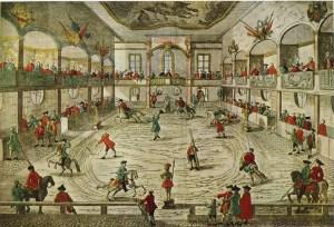 Manège anglais au XVIIIème siècle - Astley