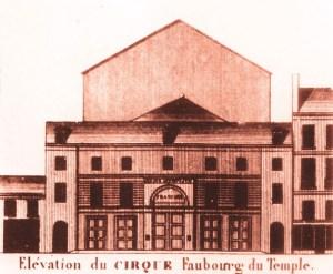 L'amphithéâtre parisien d'Astley - Astley