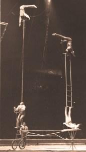 Les Block au Cirque Knie - photo Louis Bouchery - Perchistes