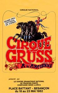 Cirque à l'Ancienne Gruss - Définition Cirque