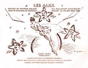 Les Alex au trapèze volant