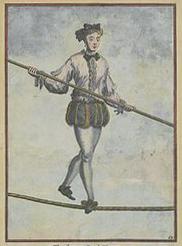 Danseur de corde au XIIIème siècle - Antonio Franconi