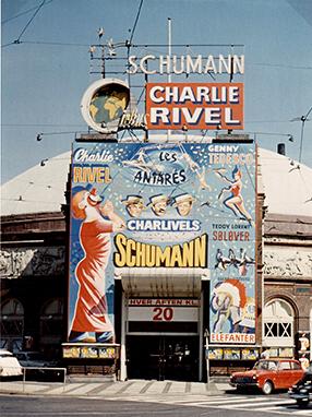 Charlie Rivel au Cirque de Copenhague