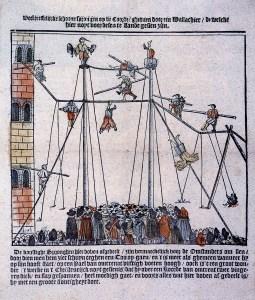 Funambules en 1700 - Funambules