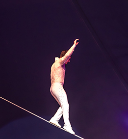 Funambules au Cirque