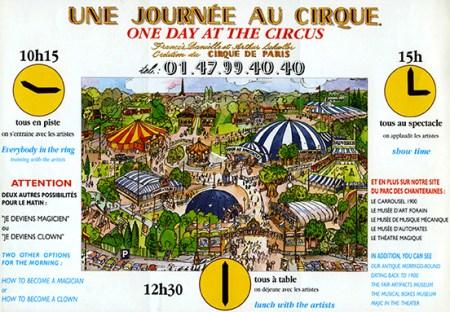 Une Journée au Cirque - Francis Schoeller