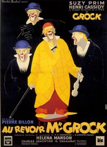 Affiche du film Au revoir monsieur Grock - Medrano perdu