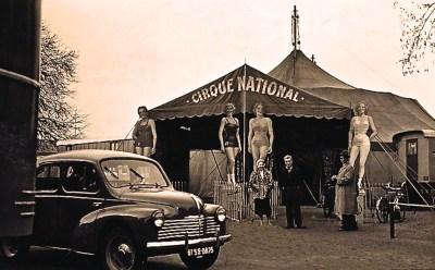 Façade du Cirque National - Amédée Ringenbach