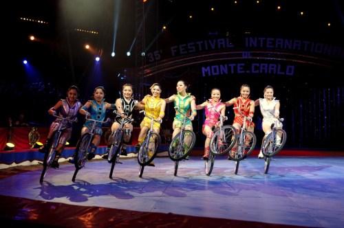 La troupe de Dalian - photo F. Dehurtevent - cyclistes