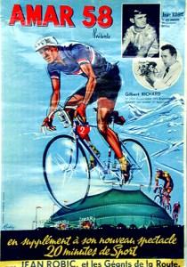Robic au Cirque Amar - cyclistes