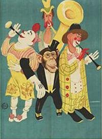 Sur le web, les relais de Circus Parade