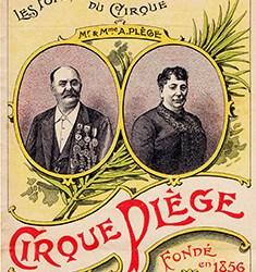 Cirque Plège, direction Antoine Plège