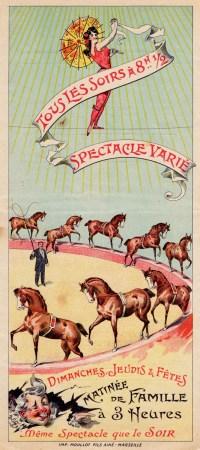 Programme du Cirque Plège - Antoine Plège
