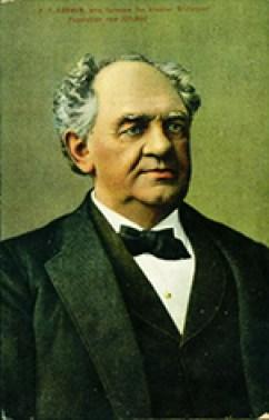 Le portrait en couleur de Phineas T. Barnum
