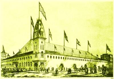 Roman Hippodrome à New York - Phineas T. Barnum
