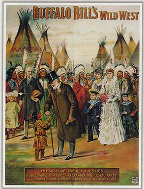 Buffalo Bill et le Prince de Galles à Londres