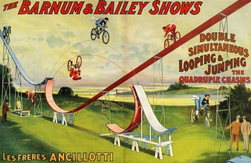 Année 1904 au Cirque - affiche Barnum & Bailey