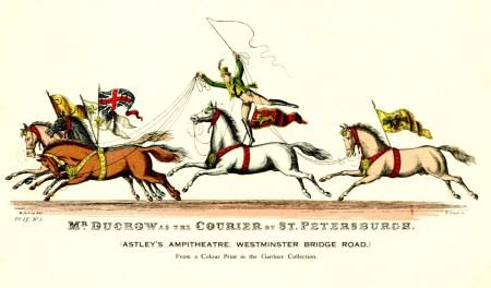 Le courrier de Saint-Petersbourg - Andrew Ducrow