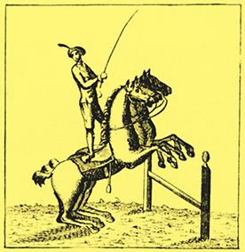 Premières compagnies équestres en Espagne