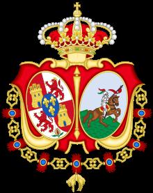 Armoiries de la cavalerie de Séville - Espagne