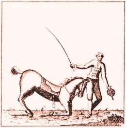 Price et son cheval - Espagne