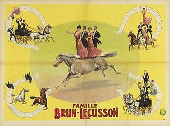 Amiens - La troupe Brun-Lécusson