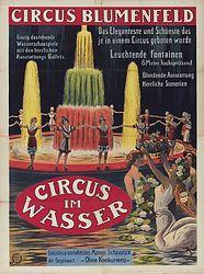 Cirque Blumenfeld en 1913 - fontaines lumineuses