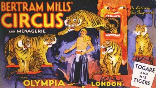 Togare au Bertram Mills Circus - Bertram W. Mills