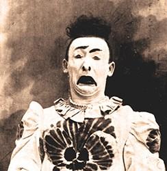 Orlando Averino clown de la Belle-Epoque