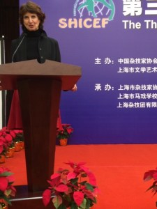Marika Maymard à Shangaï