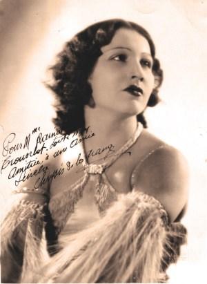 Chrysis de la Grange - photo dédicacée à madame Rainat