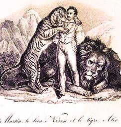 Henri Martin précurseur du dressage au Cirque