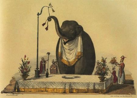 L'éléphant du roi de Siam - troisième Cirque Olympique