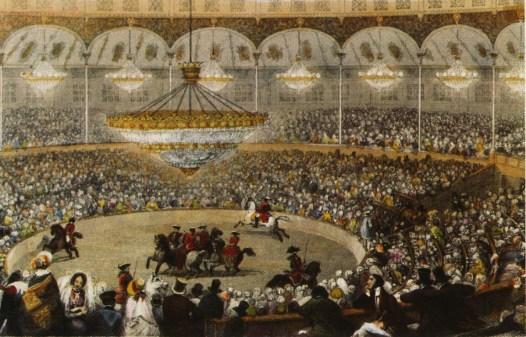 Cirque des Champs-Elysées - intérieur - Louis Dejean