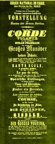 Cirque National de Paris à Berlin - Louis Dejean