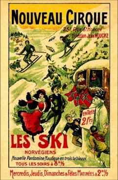 Les Skis norvégiens - Année 1906