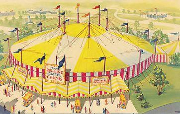 chapiteau de cirque - Circus : définition