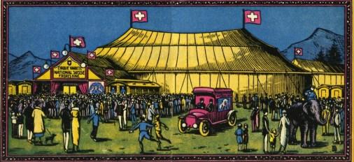 1920 - quatre frères Knie
