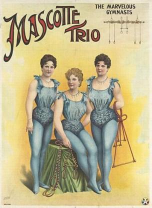 Trio Mascotte - 1908