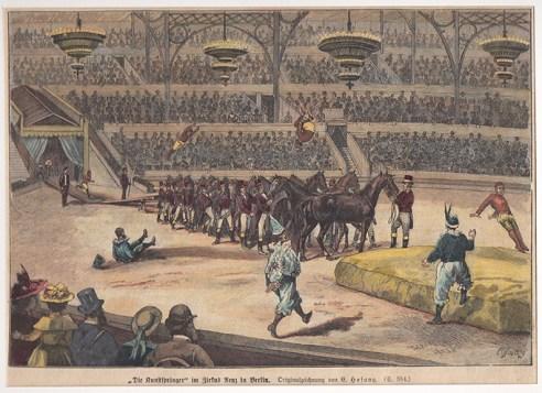 Cirque Renz à Berlin - histoire