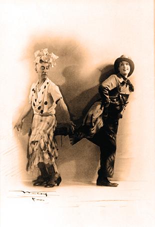 Dandy et Mistinguett